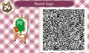 Animal Crossing QR Code The Roost Cafe by kittypaws330