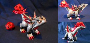 Silver and Red by ZeitgeistDragon