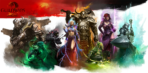 GW2 Professions by BlackSheep64