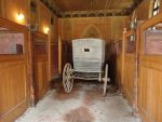 Stables with old carriage by Simbores