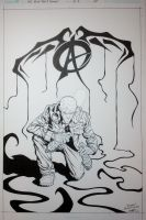 Dissident. Black Inks by Ant1-Her0-Project