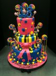 Thirteenth Birthday Lolly Pop Cake by EEPoageCakes