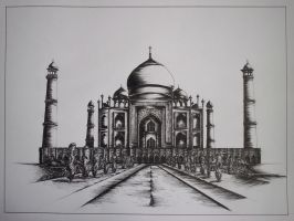 Taj Mahal by deliriouspurple