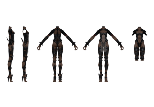 Fran Reference Body by CaptJapan