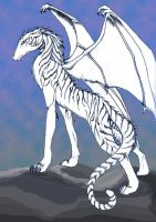 Ghost Dragon -the Royals by Zenith-AzuraTiger