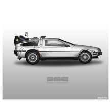 Delorean by MiguelRua