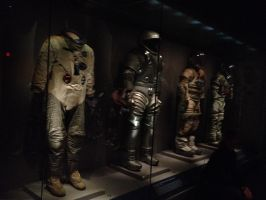 Creepy Space Suits by creecreehoneybees