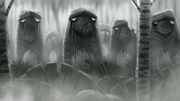 Day 705. Sidhe (student film) Color Script 03 by Cryptid-Creations