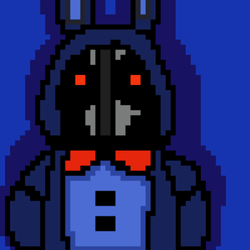 Adventure old bonnie -  Version 8 bits by Carlosparty19