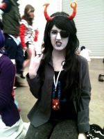 my vriska cosplay for manifest! by kimmyragefire
