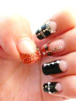 my nail_December_left02 by mafully