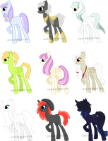 pony adopts - auction by sockl