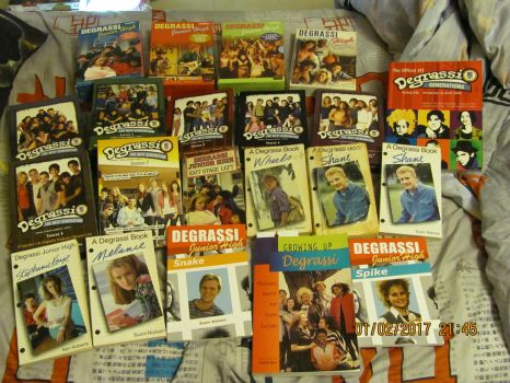 My Degrassi Collection by DarkwingFan
