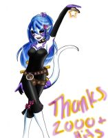 She would Like to say thank yo by Carolelyn
