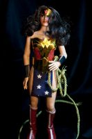 Wonder Woman Kingdom Come Costume 1:6 Figure by Crystal-Abyss