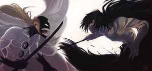 Aizen VS. Ichigo: Final by bustercloud