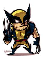 Little : Wolverine by ChickenzPunk