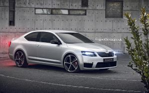 Skoda Octavia RS Coupe by CypoDesign
