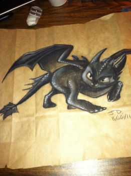 Toothless by Jarda-Potter