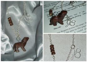 TWILIGHT Jacob Wolf Necklace by 1Brianna1