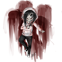 Jeff the Killer-Chibi [Creepypasta collection] by Lilenee