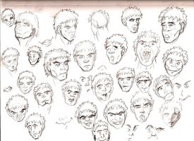 expressions study by westwolf270