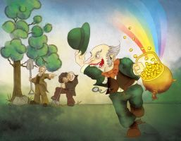 Pot Of Gold by Blackstep