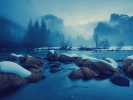 The Winter Big Stream by SottoPK