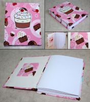Cupcake and Cherries book by elvaniel