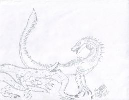 Crypt009D Lizard and Gatormen by Dragonsmana