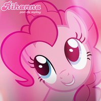 Rihanna - Pon de Replay (Pinkie Pie) by AdrianImpalaMata