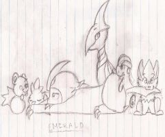 Emerald Team by NinjaMuffins1998