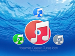 OS X Yosemite Classic iTunes Icon Pack by TheEpicRedCape