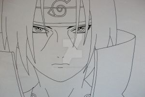 Deadly Eyes... Itachi Uchiha by SakakiTheMastermind