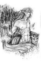 Grimmjow- Wilderness Within by ebjeebies