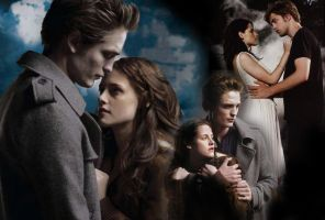 Bella and Edward poster by krisi932