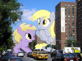 Derpytown by TheOtterPony