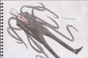 Slender Man by TheBiomex