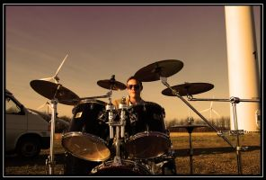 Drummer by Foto-Tour