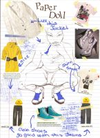 Paper Doll Page in Magazine by msdiversecity