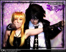 Death Note Cosplay: LxMisa: Caught by Redustrial-Ruin