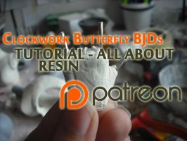 BJD making - all about resin - VIDEO TUTORIAL by EratoTiaTuatha