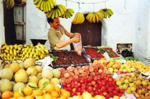 Fruit in Morocco by waitingfarbehind