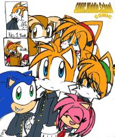 Sonic middle school cover page by tailsfan1996