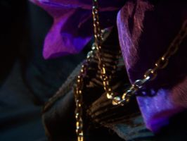 black and violet bg-chain by StarBlackHeart