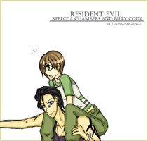 Re0 Rebecca and Billy r3 by FiammahGrace