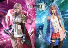 Cocoon Sisters FF XIII Poster by D-JProductions