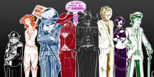 My Only Friends Are My Enemies. by kuoke