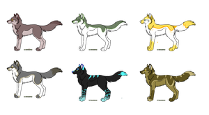 Wolf adopts (OPEN) by Dunkin-Prime