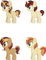 [CLOSED] - Stopwatch X Dizzypaw Fanfoals by Featheries